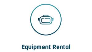 VR Equipment Rental Logo