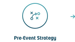 Pre-event strategy icon
