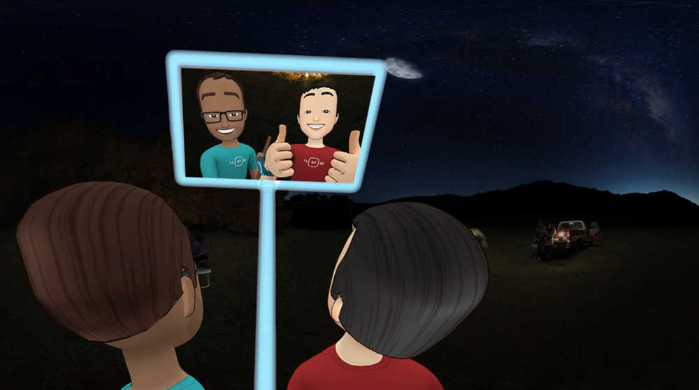 Facebook Spaces VR