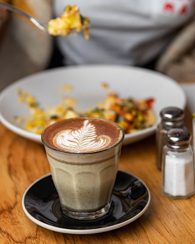 Cacao & Coconut Turmeric Latte to help beat those Monday blues