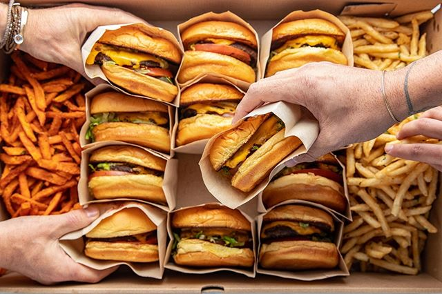 Some call it a miracle, we call it Catering 🍔 🍟
