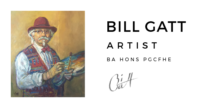 Bill Gatt visual artist BA HONS PGCFHE