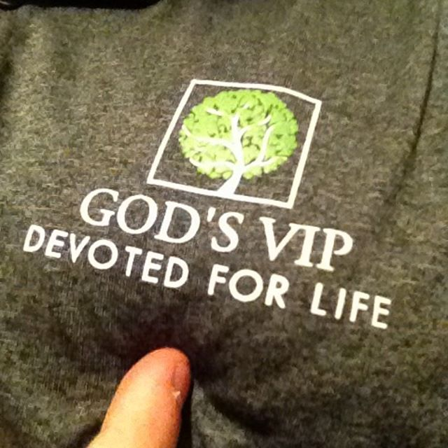Never 4get it. #godsVIP #devoted4life #rickstevesismygod