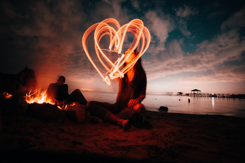 фаер картинки о любви