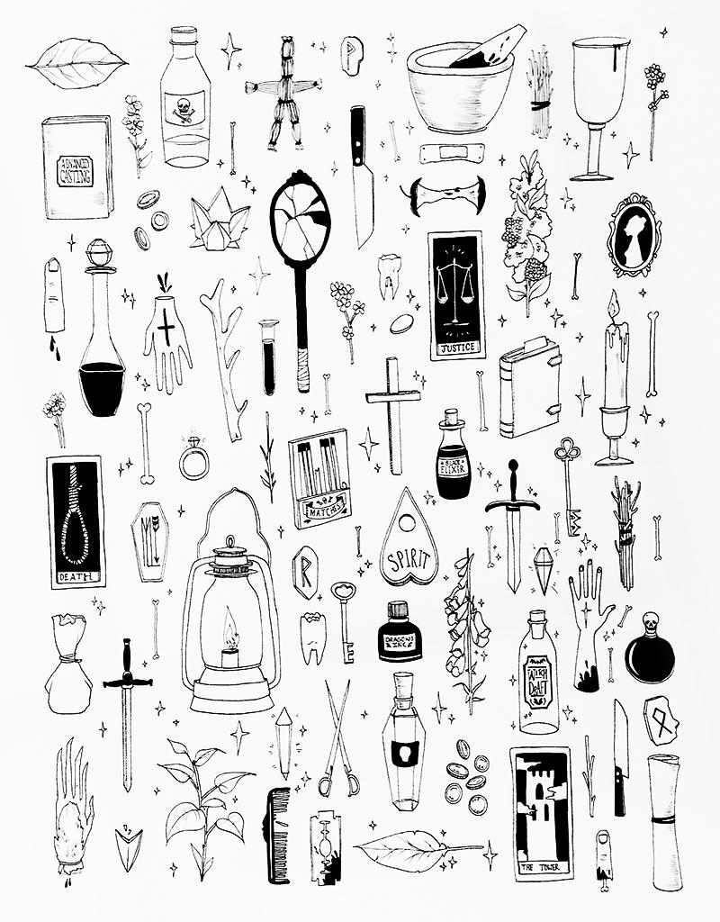"""""""Items""""by M. Laverick (Momalish)"""