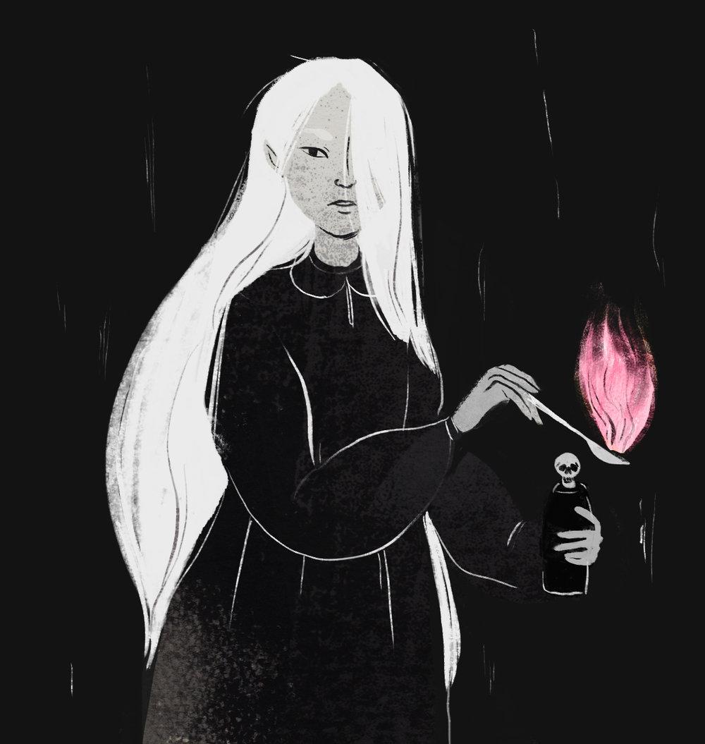 """""""Witch""""by M. Laverick (Momalish)"""