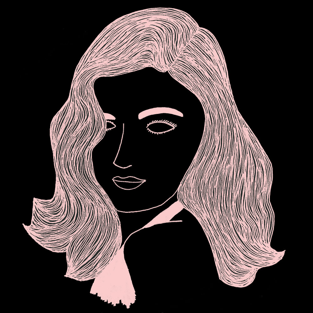 """Veronica Lake"" by Kaitlin Martin"