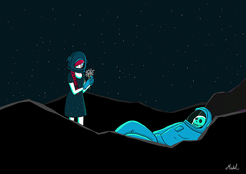 """Dead Astronaut"" by Madel Floyd"
