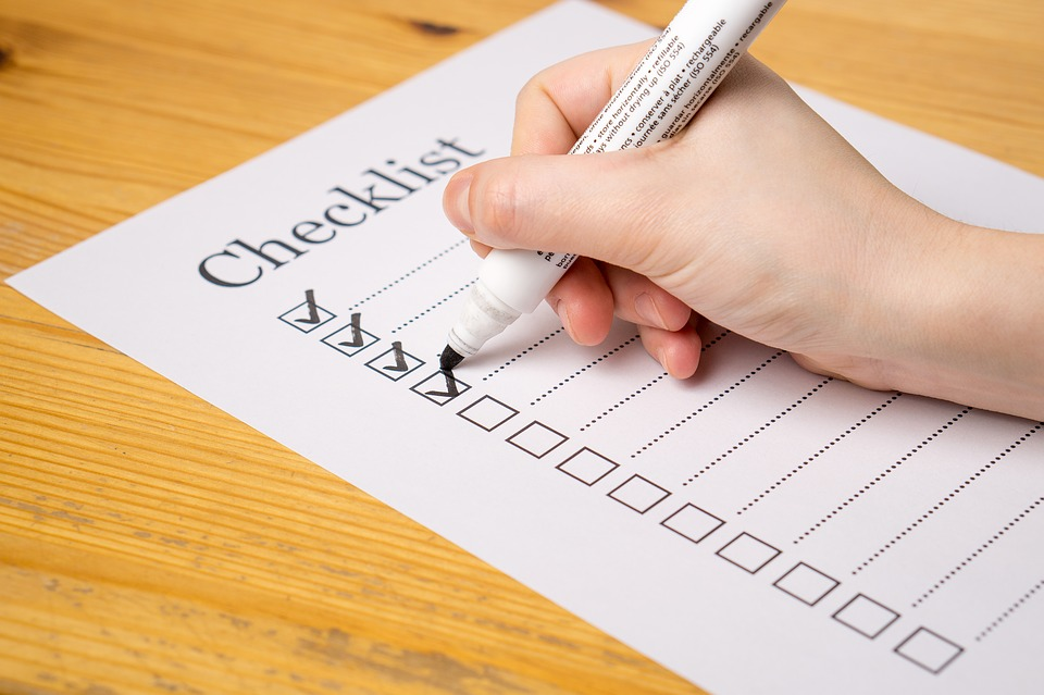 a year end estate and financial planning checklist make your list