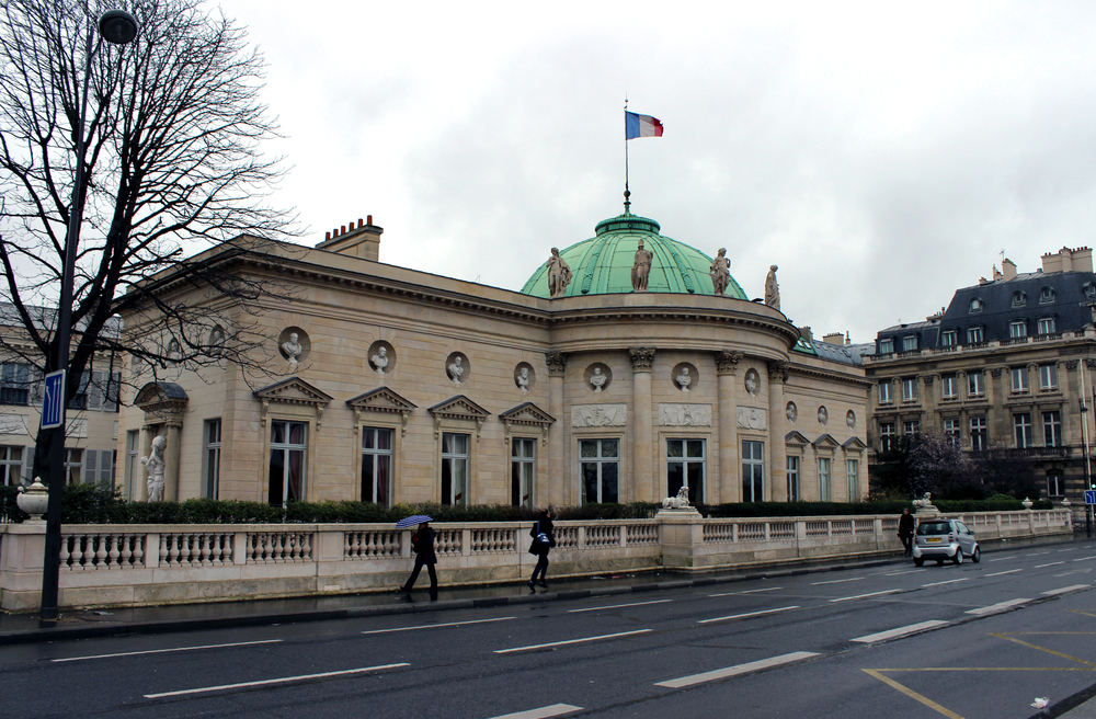 Hotel de Salm in Paris, now the home of the French Legion of Honor.