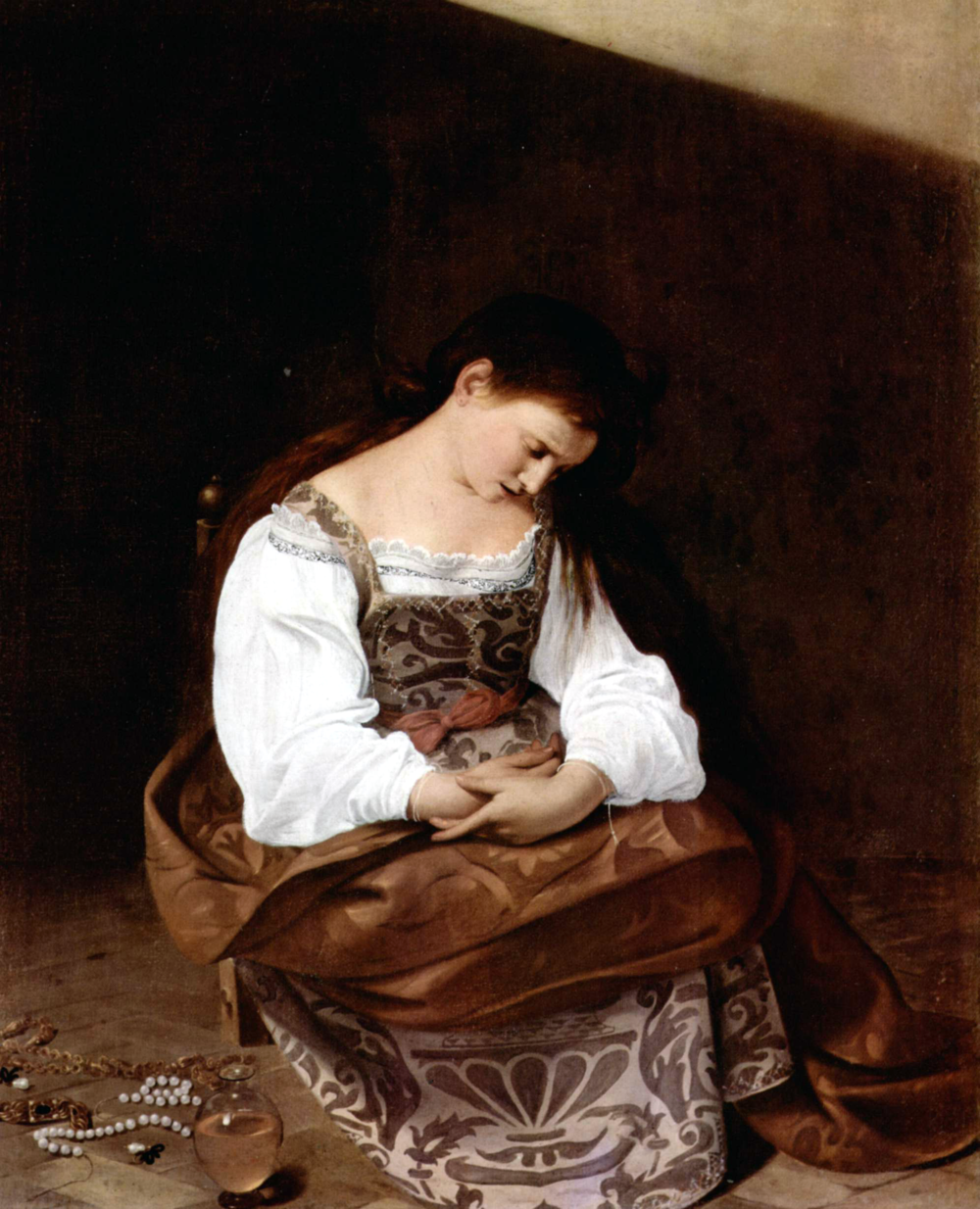Penitent Magdalene by Caravaggio, c. 1594–1595