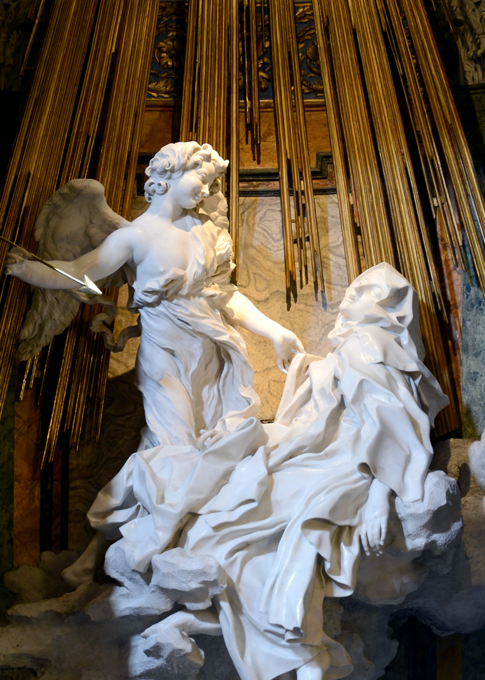 Ecstasy of Saint Theresa   by Bernini, c.   1647–52