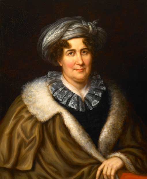 Portrait of Margaret Bayard Smith  by Charles Bird King, c. 1829. From  Wikimedia Commons  and the  Smithsonian Institute .