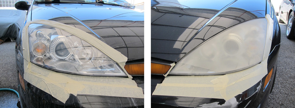 headlights, headlight restoration, detail