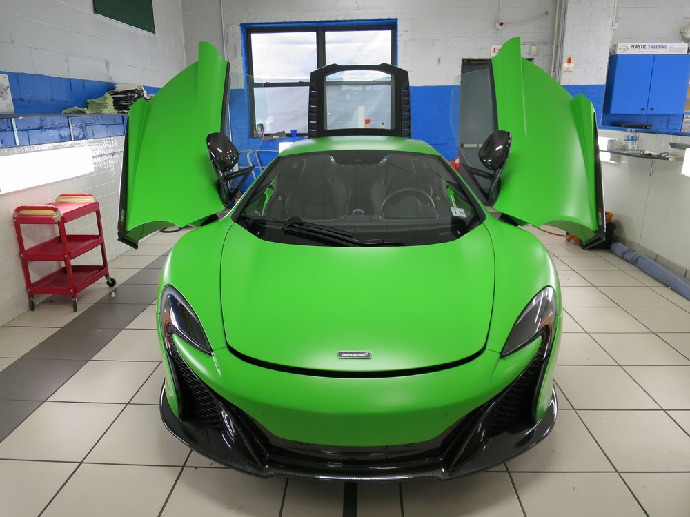 mclaren, ppf, paint protection film, stealth
