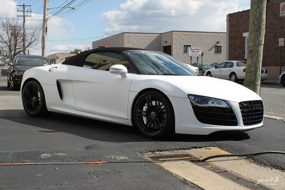 audi, r8, stealth, ppf, paint protection film