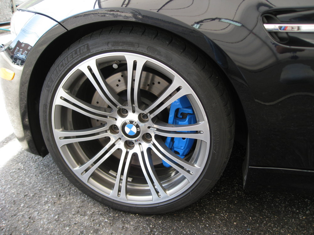 BMW M3 '09 Carbon Brake Caliper Painting- James Giaccone (8).JPG