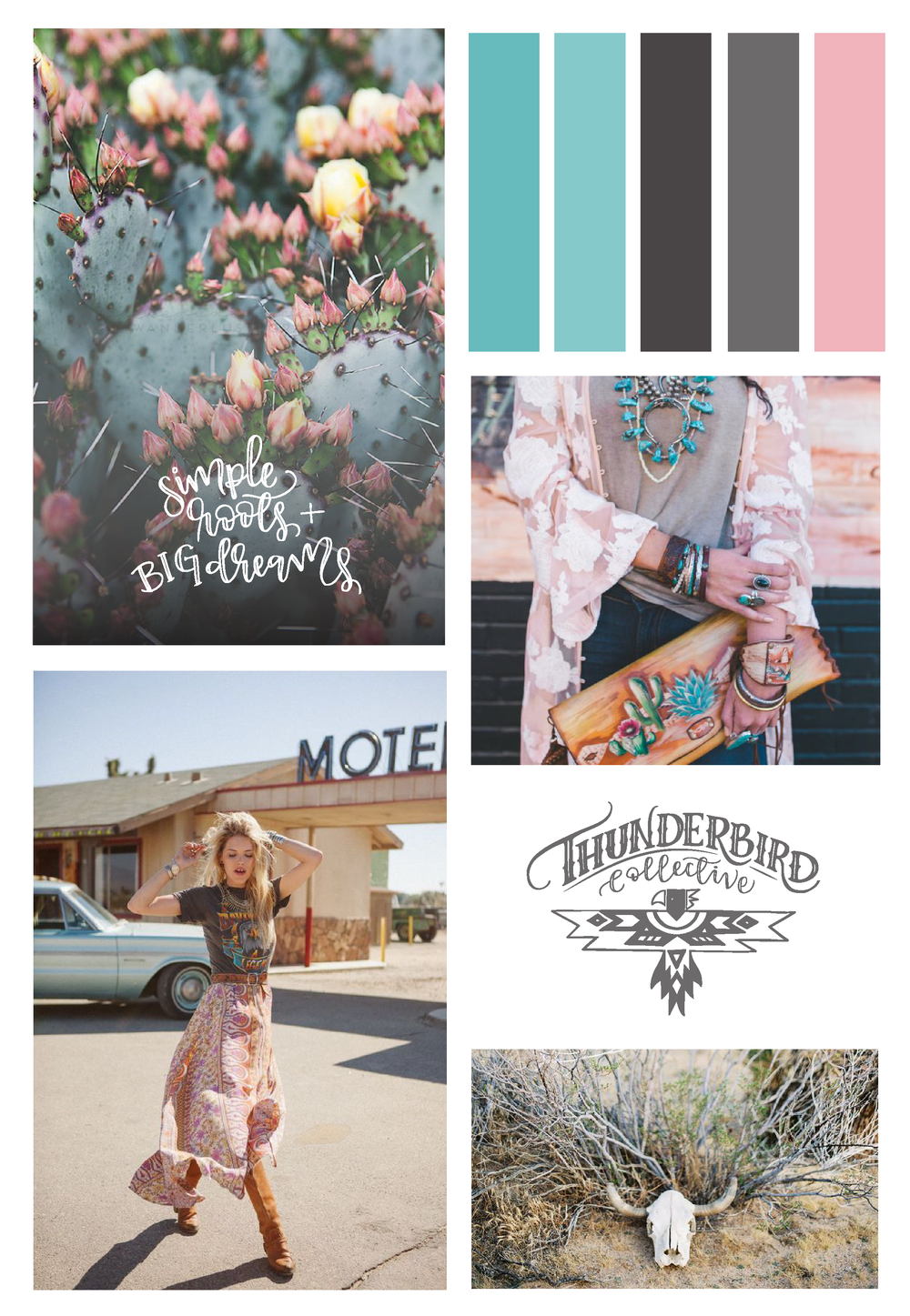 Thunderbird Collective | Mood Board
