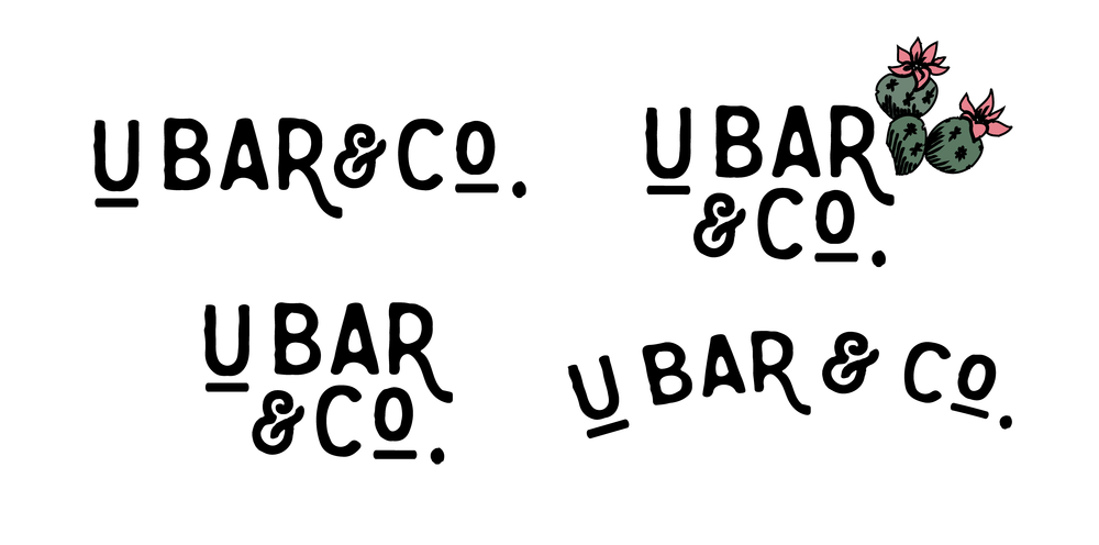 A few of the secondary, more simplistic versions of the logo.