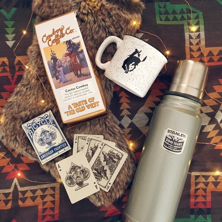 this stanley thermos cowboy coffee and pendleton mug all make great gifts for the classic old soul in your life add this incredible deck of cards from - Nice Christmas Gifts
