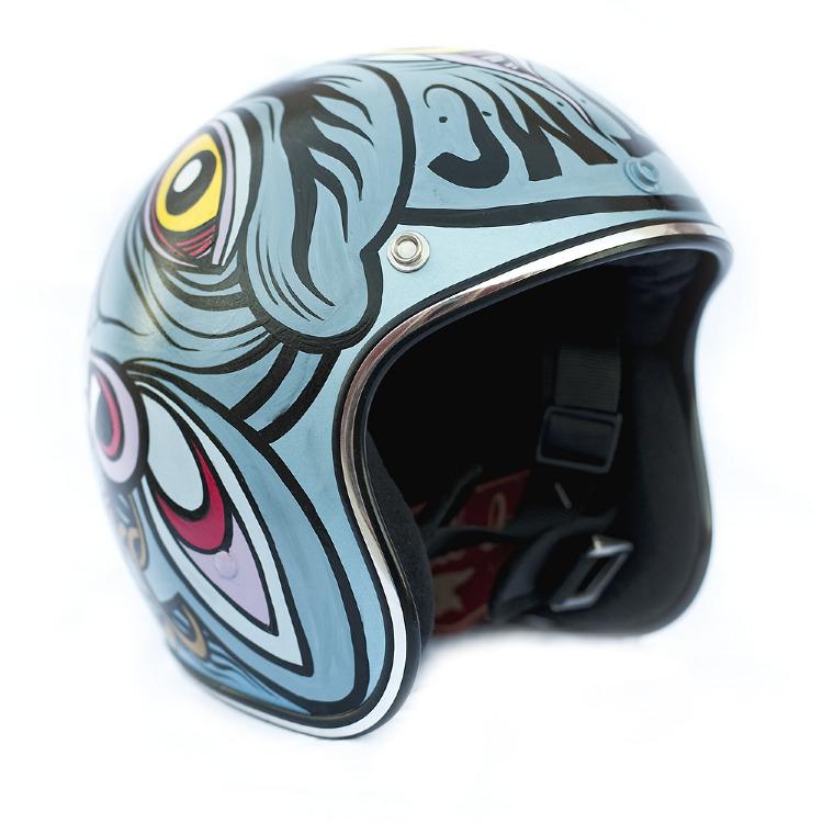 Artist- Honky Kong Item- Helmet Material- Mixed Medium 1.jpg