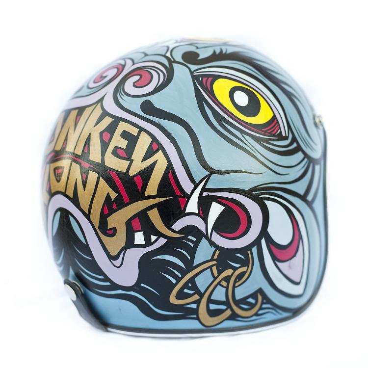 Artist- Honky Kong Item- Helmet Material- Mixed Medium 2.jpg