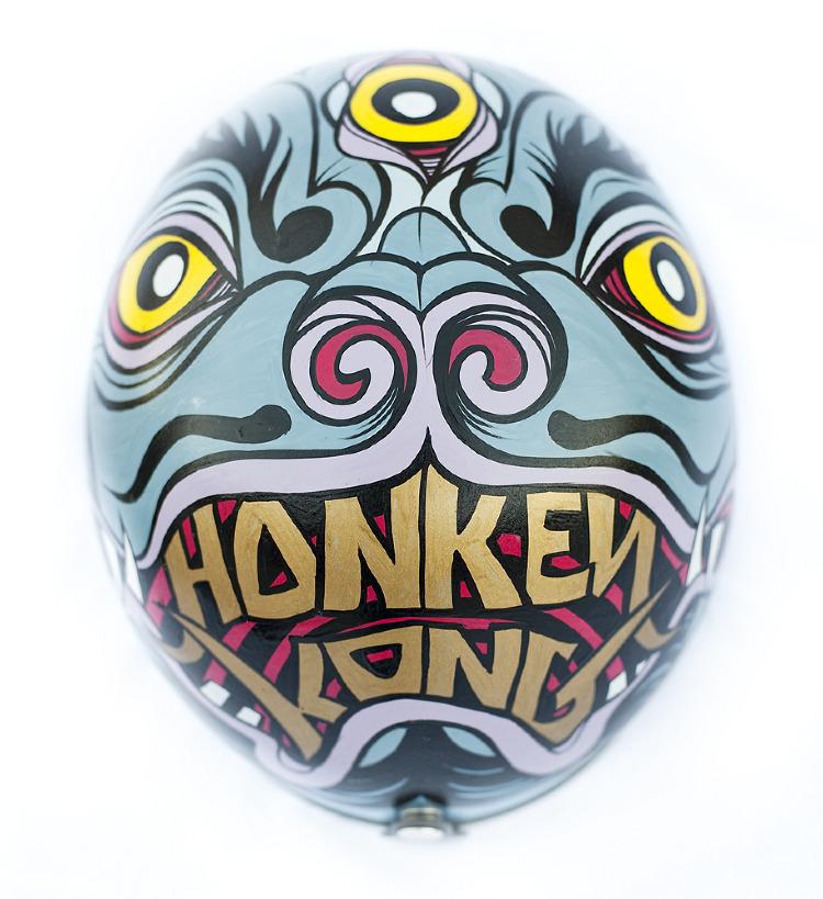 Artist- Honky Kong Item- Helmet Material- Mixed Medium 3.jpg