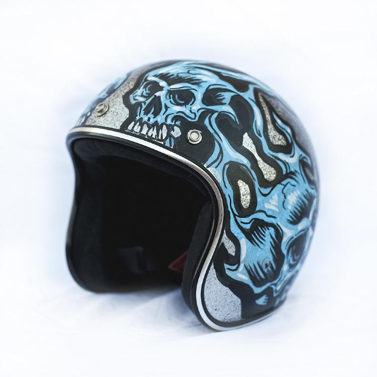 Artist- Jimbo Phillips Item- Helmet Material- Mixed medium 1.jpg