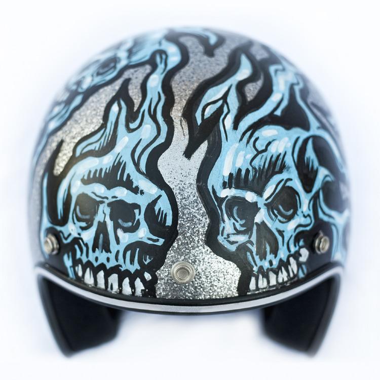 Artist- Jimbo Phillips Item- Helmet Material- Mixed medium 2.jpg
