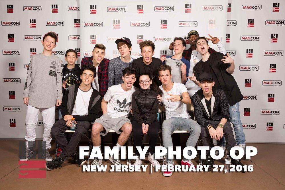 New Jersey Family D1 — Magcon Tour