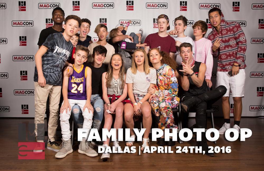 Dallas Family D2 — Magcon Tour