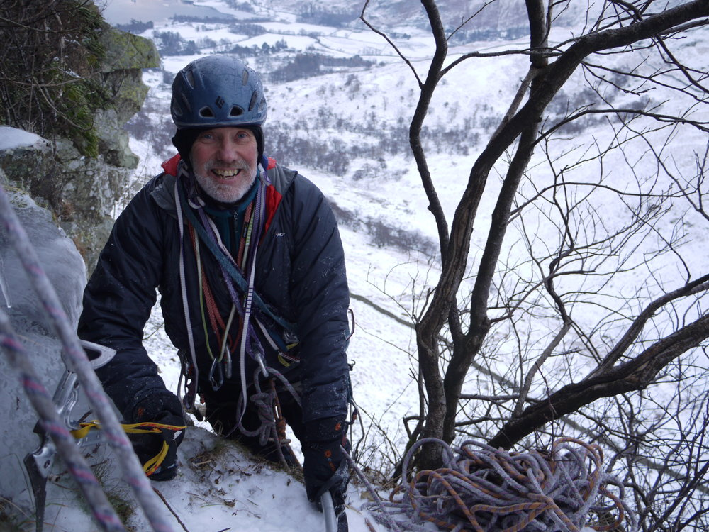 Mike ice climb new route.JPG