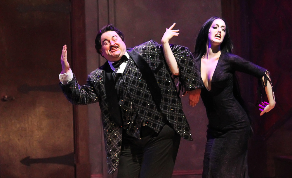 "Morticia in ""The Addams Family"""