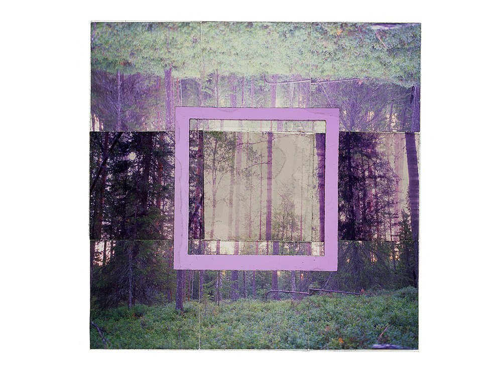 "LIPPOSENNIEMI • 48""x48"" (122cm x 122cm) • C-print from color transparency film composition"