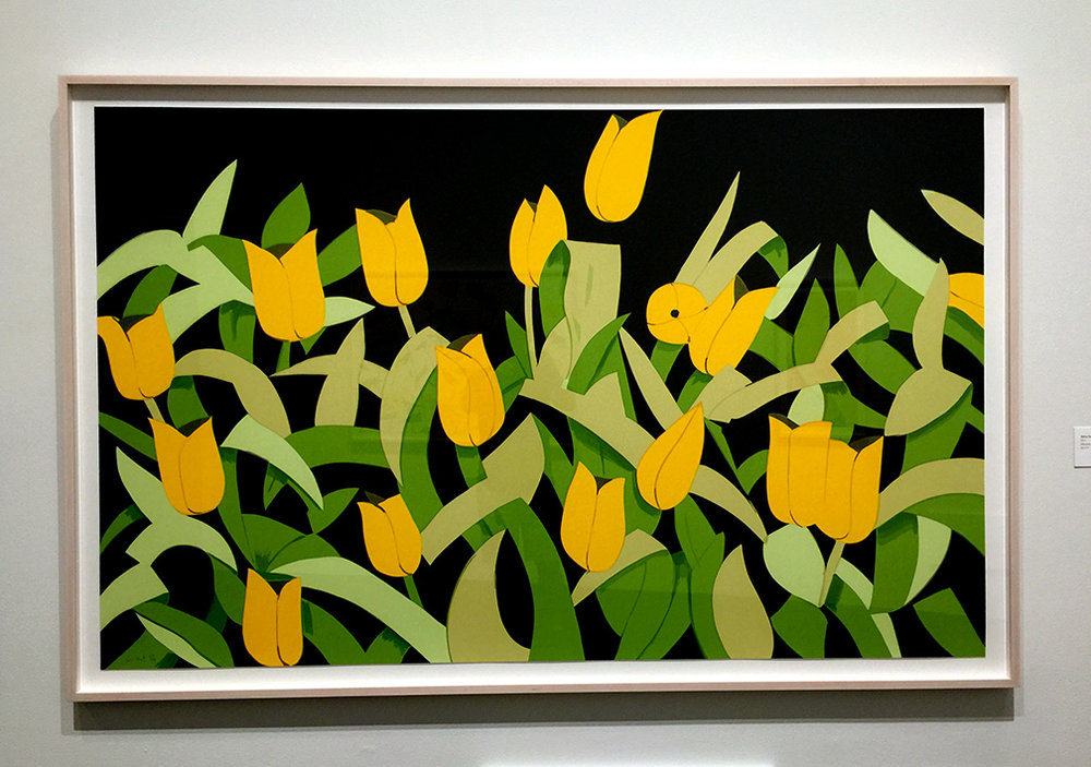 Yellow Tulips , Silkscreen, 2014