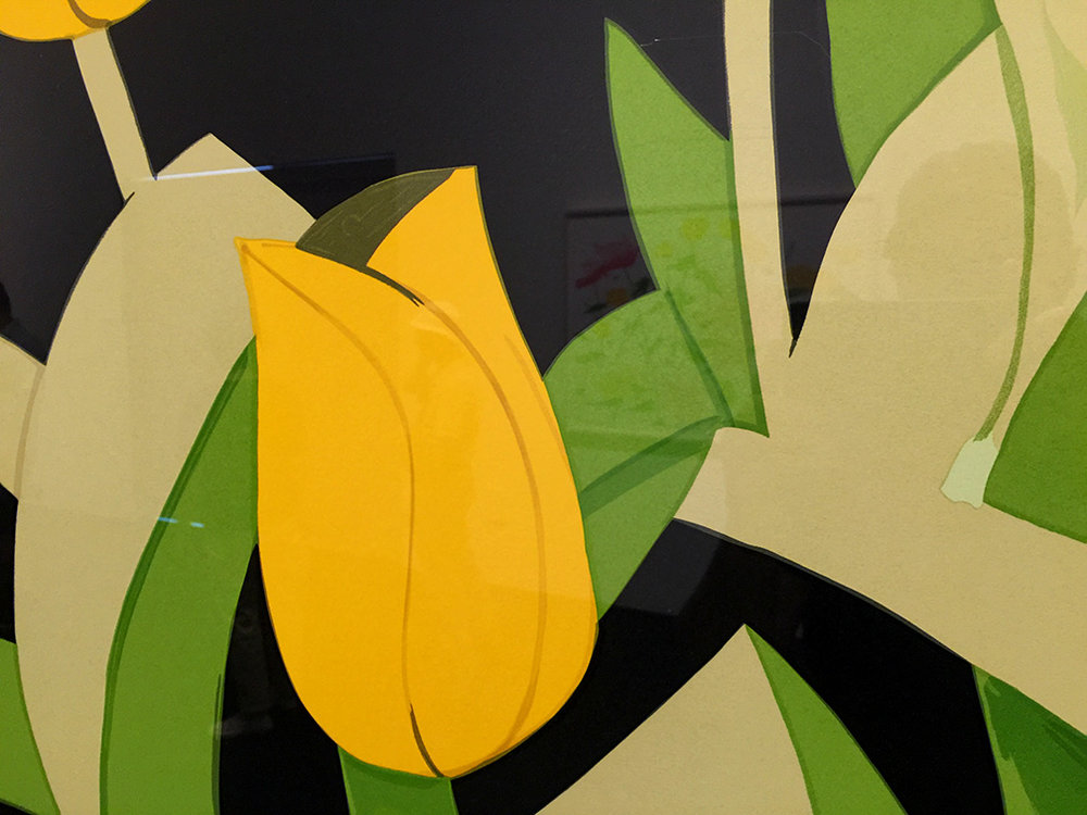 Yellow Tulips (Detail) , Silkscreen, 2014