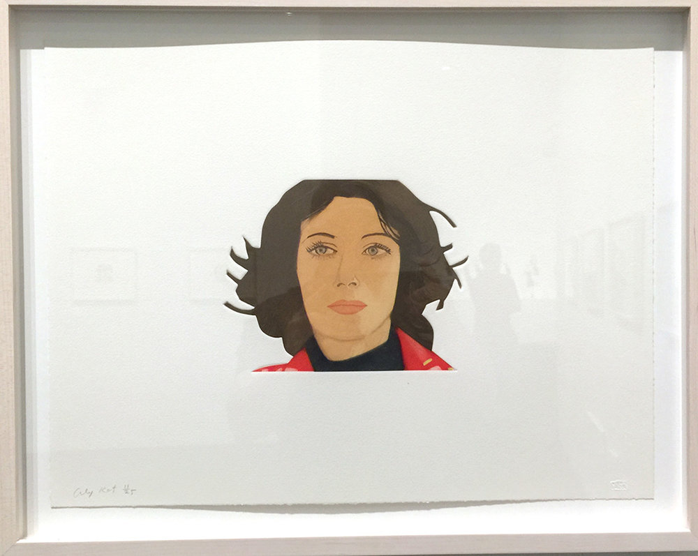 Face of the Poet: Ann  , Silkscreen, 2013