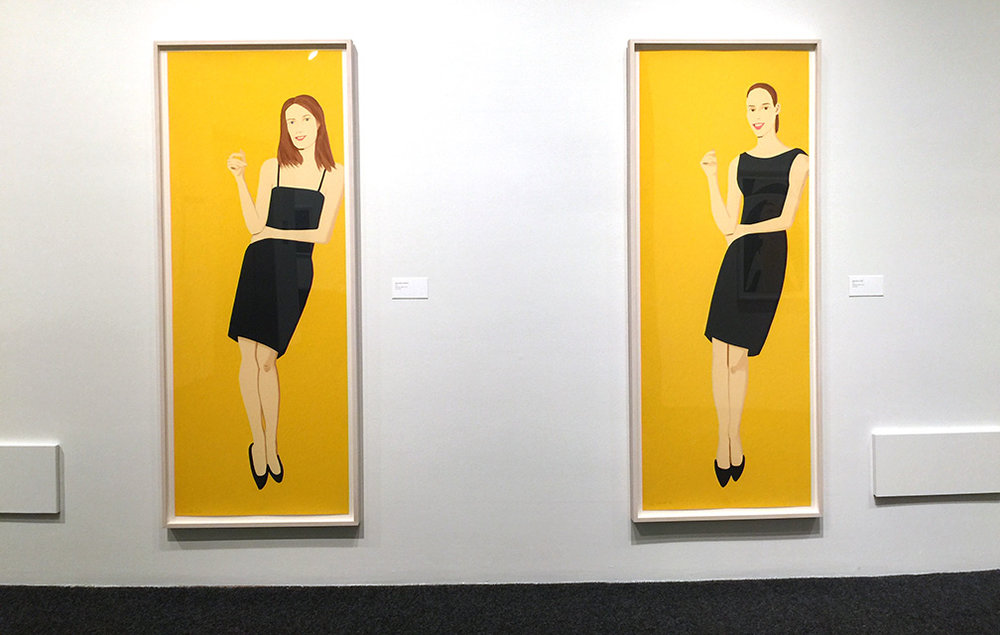 2 from the  Black Dress  series ,  Silkscreen, 2015