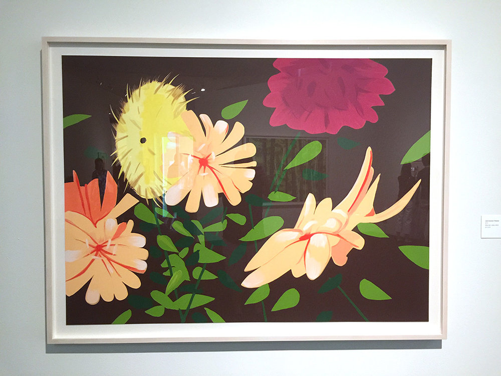 Late Summer Flowers , Silkscreen, 2013