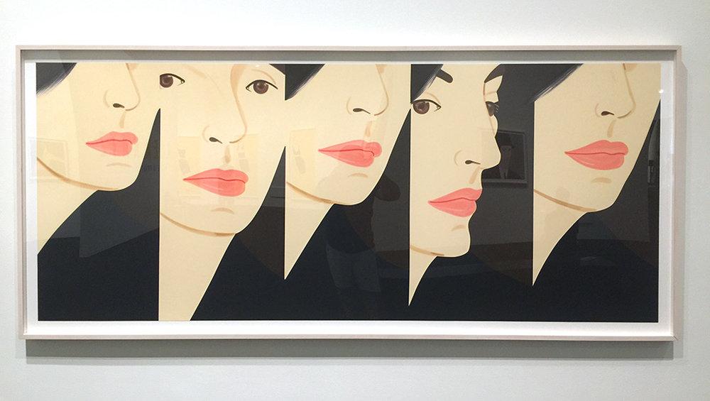 Vivian x5 , Silkscreen, 2017