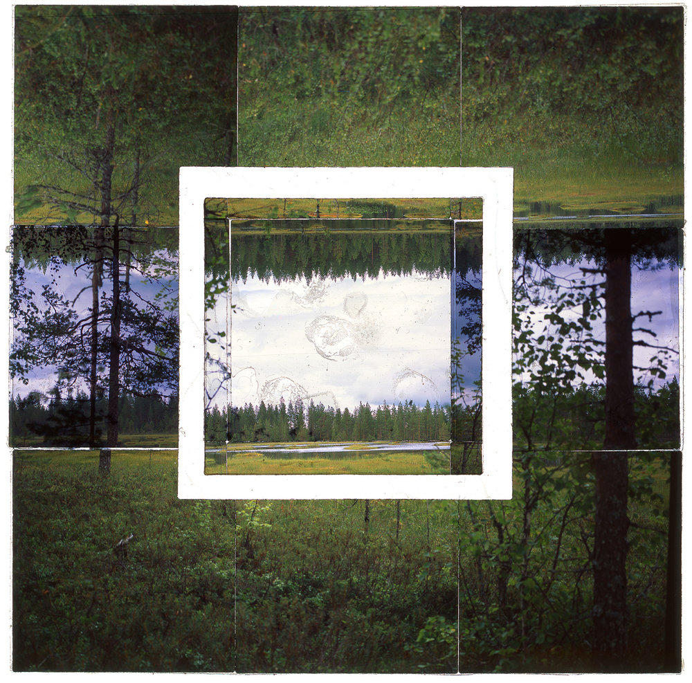 "KUKKAROSUO, FINLAND - 36""x36"" (91cmx91cm) • TRANSPARENCY FILM PRINT, ARCHIVAL PIGMENT ON FUJI LUSTRE  (EDITION OF 5)"