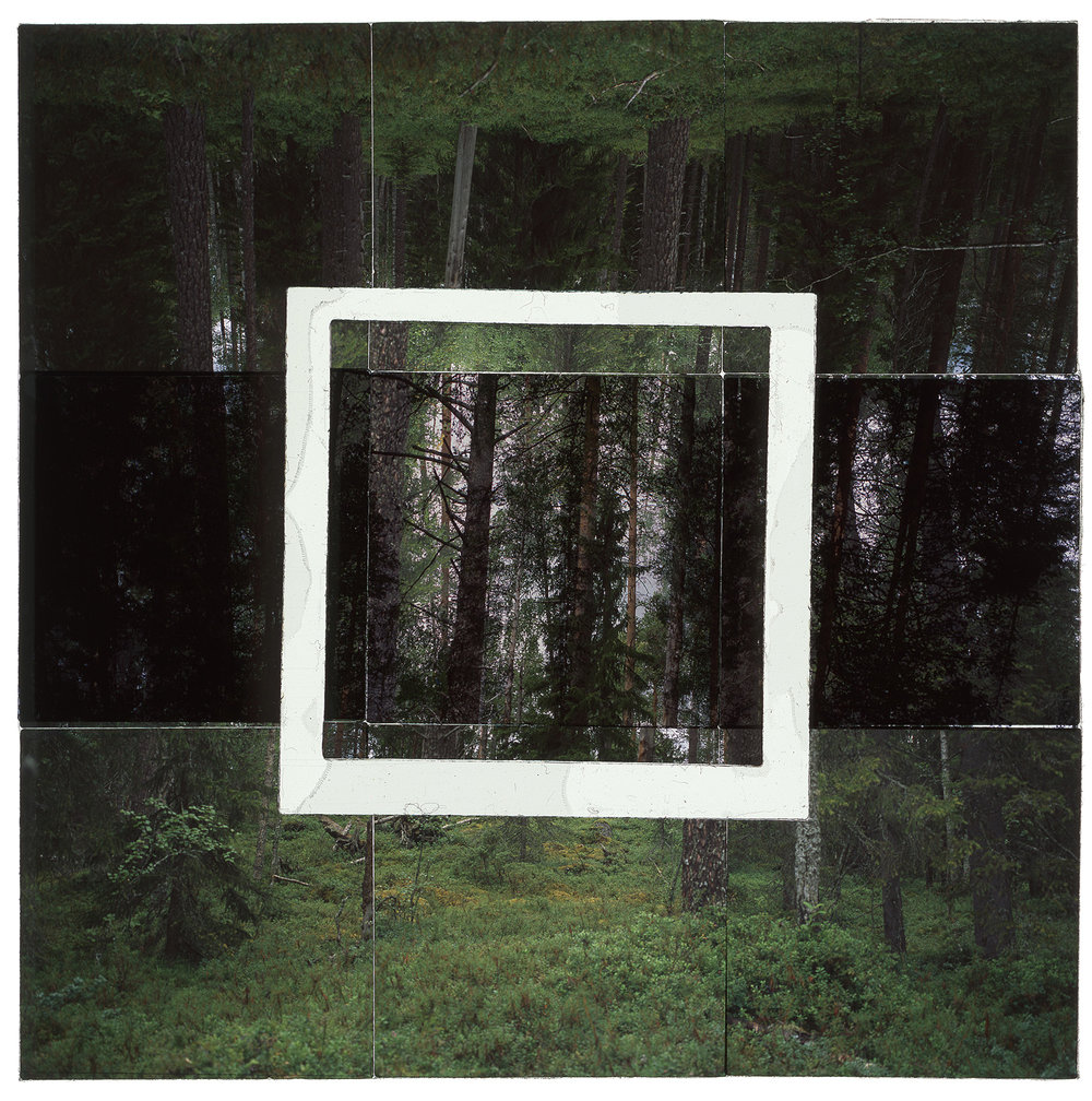 "JATKONVAARA, FINLAND - 36""x36"" (91cmx91cm) • TRANSPARENCY FILM PRINT, ARCHIVAL PIGMENT ON FUJI LUSTRE  (EDITION OF 5)"