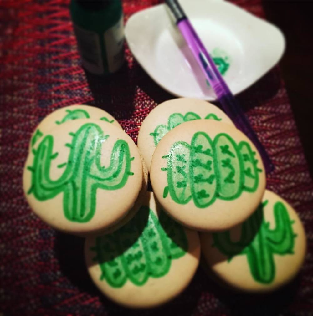 Hand Painted Cacti