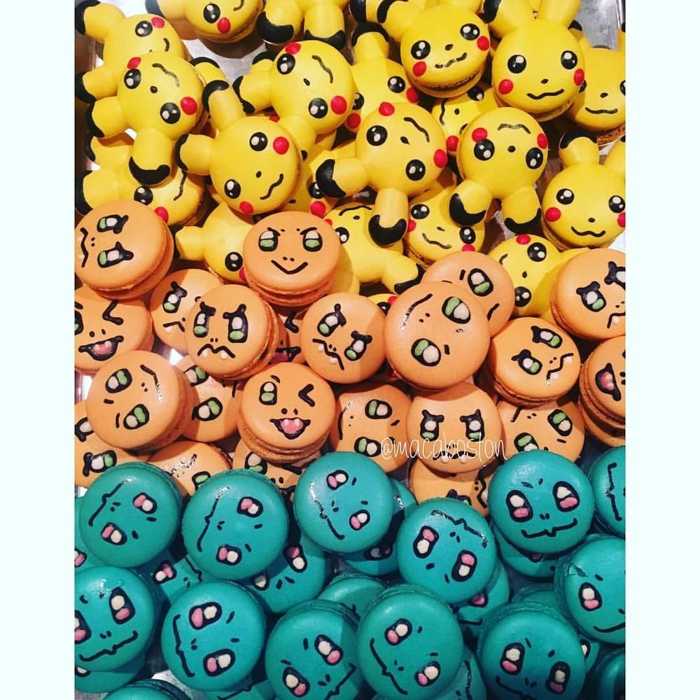 Pikachu, Charmander & Squirtle