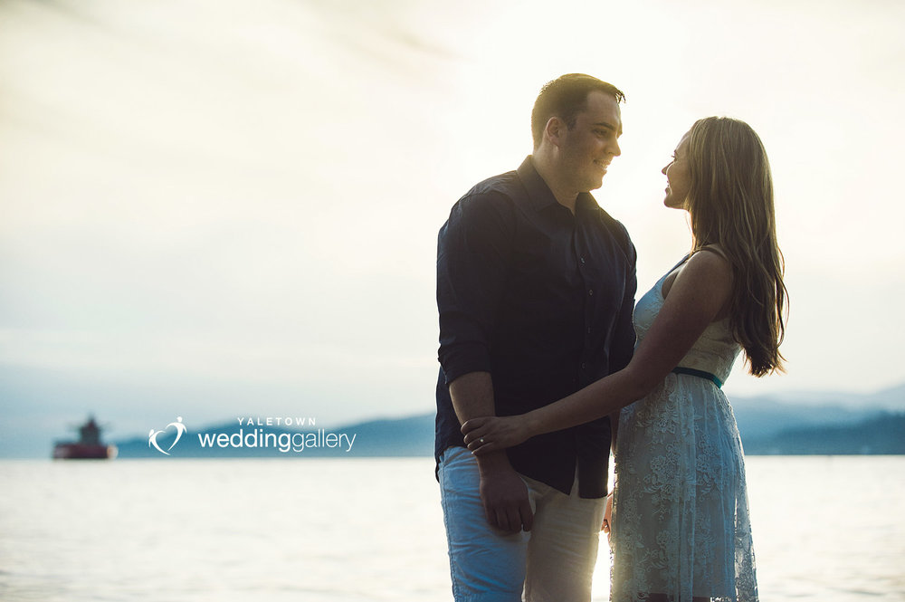 Yaletown-Wedding-Gallery-Vancouver-Engagement-Session-beach-sunset-photo