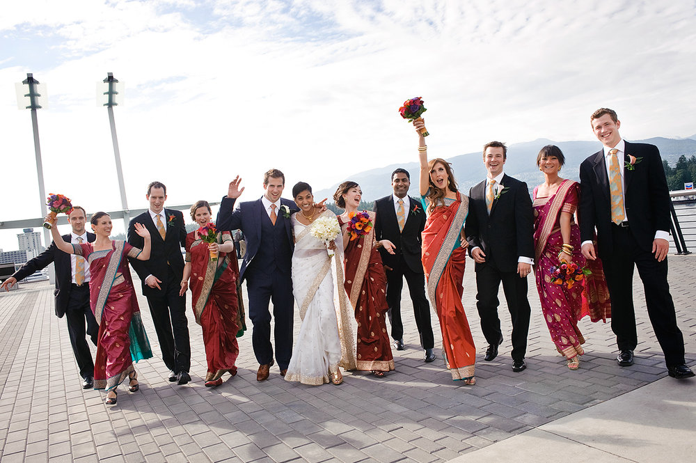 bridal-party-saris-indian-wedding-vancouver-wedding-yaletown-photography-photo