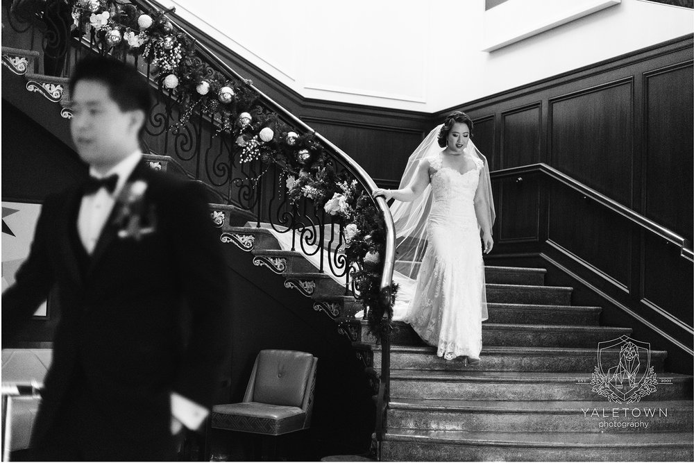 We do love first looks, especially when we have such a gorgeous staircase as a backdrop for photos.  This hotel is still one of my favourite locations to photograph:)