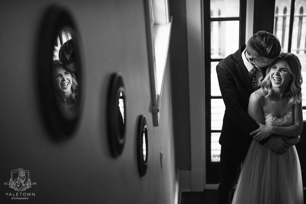 yaletown-photography-bride-and-groom-first-look-photo