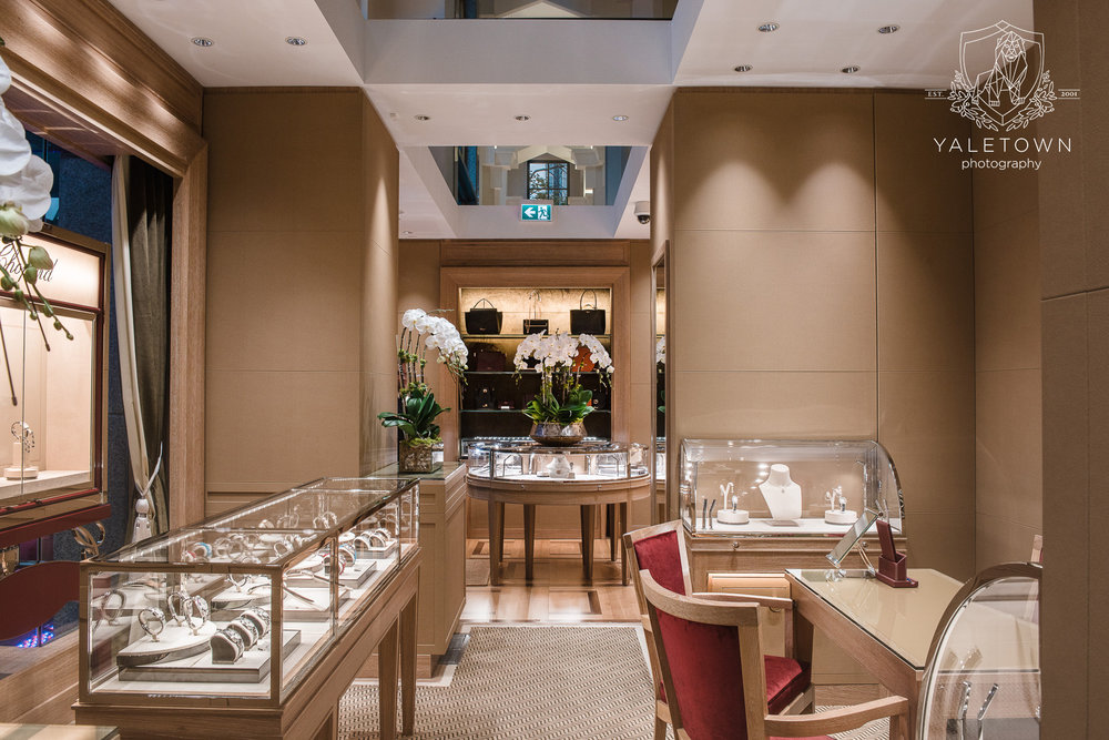 Chopard Store Interior, located inside Cathedral Place on West Georgia Street.