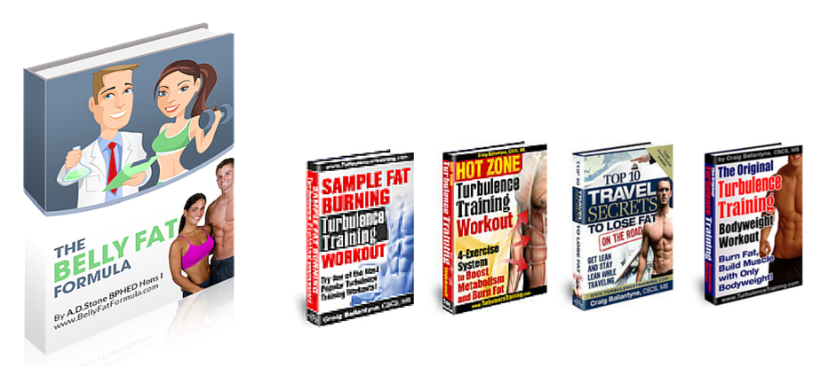 Belly Fat Formula eBook and Free Bonuses